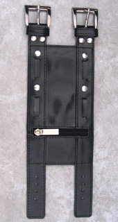 Arm Wallet Black Studded