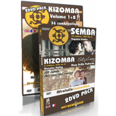 Afrolatin Connection: Kizomba 1&2, Kizomba Styling & Semba int/adv 4 DVD PACK