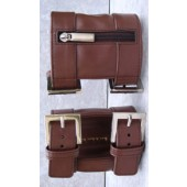 Arm Wallet Light Brown XL