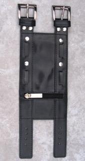 Arm Wallet Black Studded