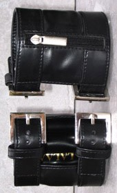 Arm Wallet Black L