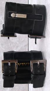 Arm Wallet Black Studded M