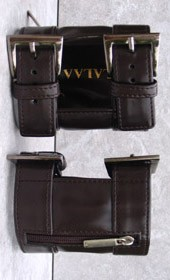 Arm Wallet Dark Brown M