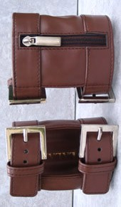 Arm Wallet Light Brown M