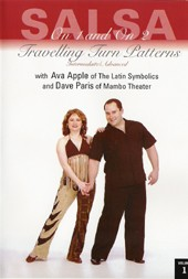 Dave Paris & Ava Apple: Travelling Turn Patterns Vol 1 ***/*****