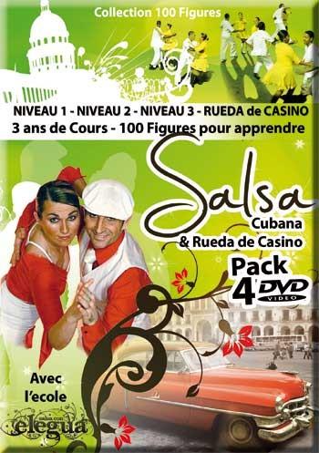 Elegua: 4-pack  Salsa Cubana/Rueda */*****
