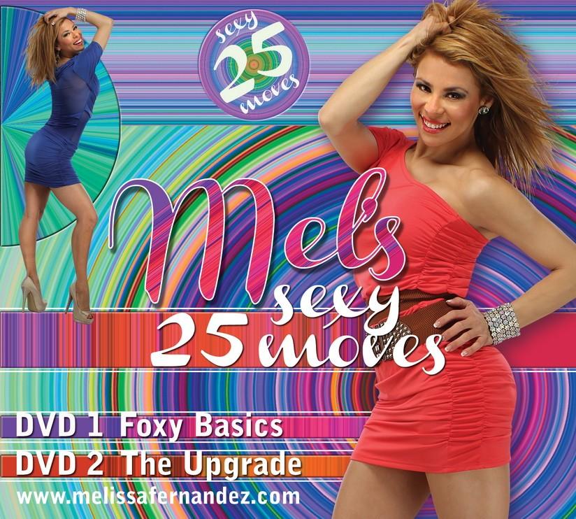 Melissa Fernandez: Mels 25 Sexy Moves – 2 DVD