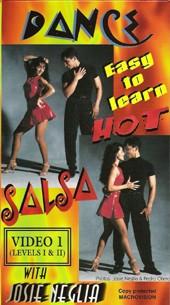 Josie Neglia: Dance Hot Salsa vol 1 */**