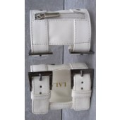 Arm Wallet White Studded L