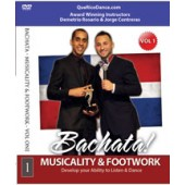 Jorge Contreras & Demetrio Rosario: Bachata Musicality & Footwork